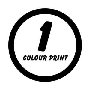 1 Colour Print