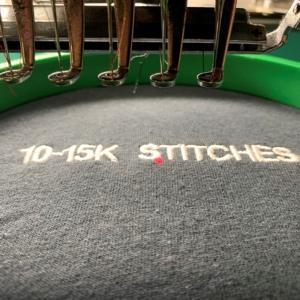10-15,000 Stitches