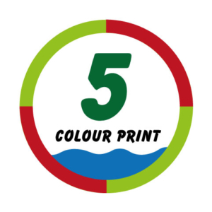 5 Colour Print