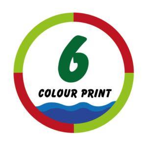 6 Colour Print