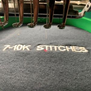 7-10,000 Stitches